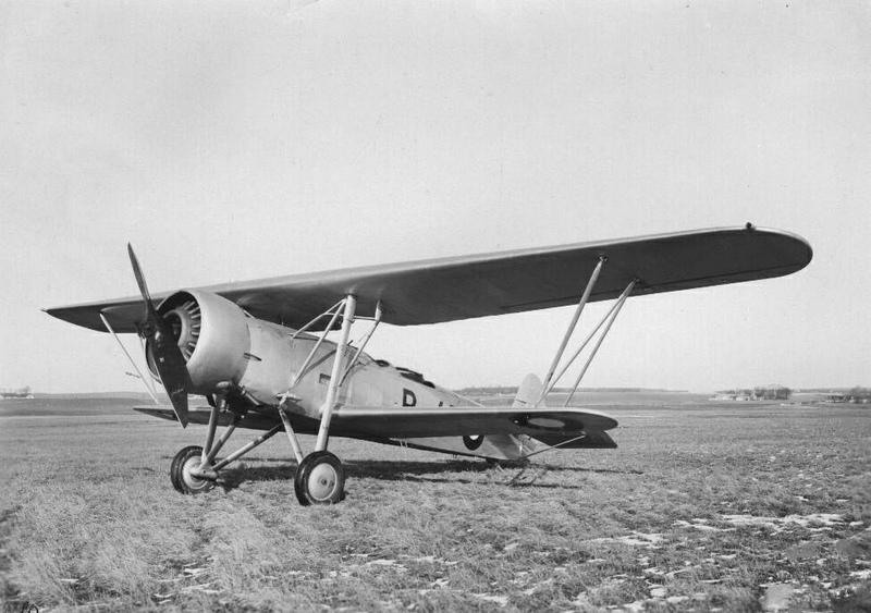 første jager fly